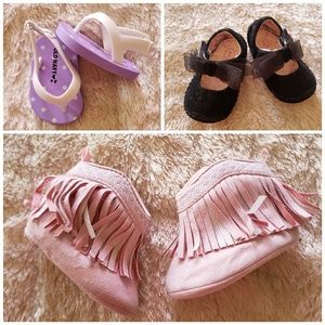 Infant Baby Girl Shoes Sandals Booties